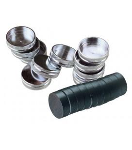 Pin-Cast magnesy i pojemnik na magnesy 30 szt