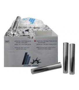 Łuski aluminiowe do wtryskarki J-100, Ø 25,4 mm z kapslami teflonowymi 45 szt.