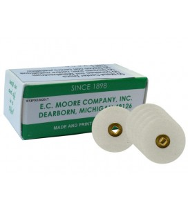 "Separator Mooreplastic 7/8"" 22 mm ziarnistość fine 50 szt."