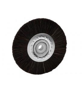 Finopolish szczotka czarna wąska twarde włosie 48 mm