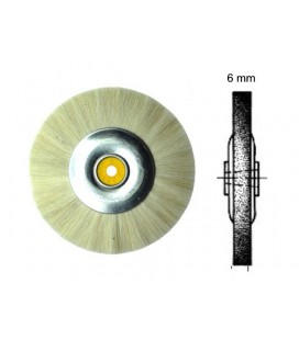 Szczotka WUSP włosie kozie 80 x 6 mm
