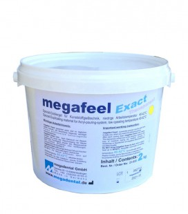 Megafeel Exact masa przeźroczysta 2 kg