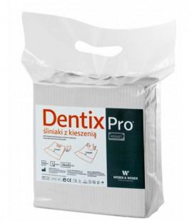 Śliniaki z kieszenią Dentix Pro 50 szt. białe