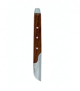 Nóż do gipsu duży uchwyt drewniany 180 mm