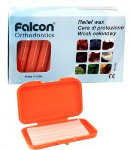 Wosk osłonowy bezbarwny o zapachu pomarańczy 3,4 g x 10 szt.