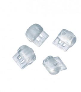 Kliny z gumy do obrotu zębów 100 szt.