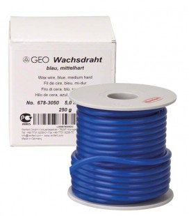 Wosk GEO drut średnio twardy niebieski 3,5 mm 250 g