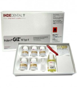 Giz zestaw 5 x 10 g, varnish 30 ml
