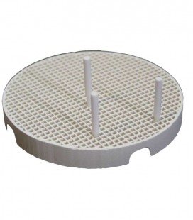 Podstawka do napalania porcelany 80 mm z pinami ceramicznymi