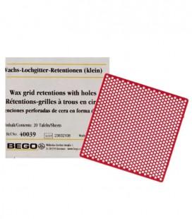 Bego, woskowa retencja płytka 70 x 70 mm 20 szt.