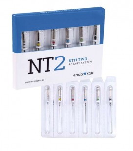 Endostar NT2 NiTi Two Rotary System 6 szt.