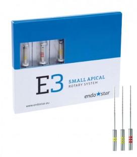 Endostar E3 Small Apical Rotary System 3 szt.