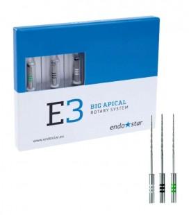Endostar E3 Big Apical Rotary System 3 szt.
