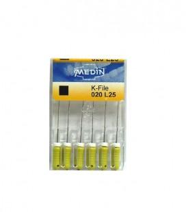 K-file Medin 020 25 mm