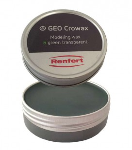 Wosk Crowax, zielony-transparent 100 g