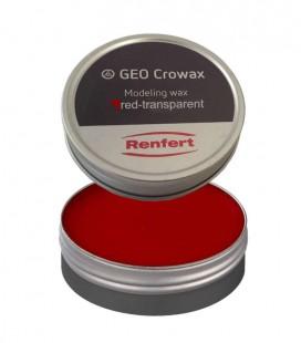 Wosk Crowax, czerwony-transparentny 100 g