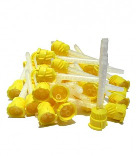 Zhermack, końcówki mieszające żółte 48 szt.