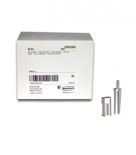 Bi-Pin krótki z koszulką 13,5 mm 1000 szt.