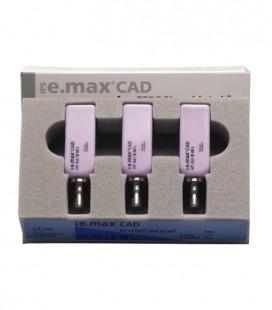 IPS e.max CAD Cerec/inLab HT A2 B40L 3 szt.