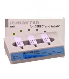 IPS e.max CAD Cerec/inLab HT A3 B40 3 szt,