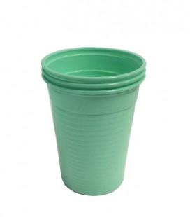 Kubki plastikowe 180 ml zielone 100 szt.