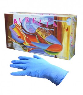Rękawice Aurelia nitrylowe 200 szt. S