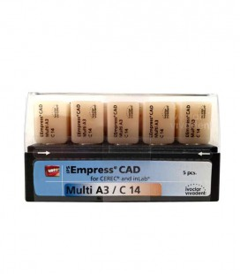 Empress CAD CEREC/inLab Multi A3 C14 5 szt.