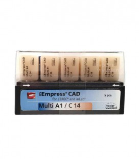 Empress CAD CEREC/inLab Multi A1 C14 5 szt.
