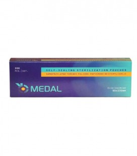 Torebki Medal do sterylizacji 90 mm x 230 mm 200 szt.