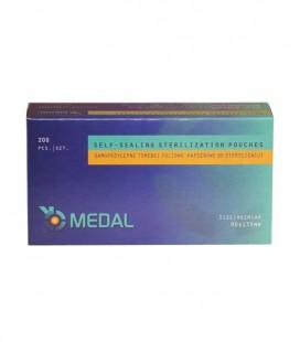 Torebki Medal do sterylizacji 90 mm x 135 mm 200 szt.