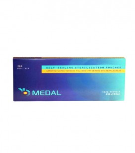 Torebki Medal do sterylizacji 190 mm x 330 mm 200 szt.