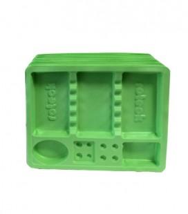 Tacki stomatologiczne zielone 100 szt.