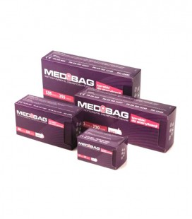 Torebki Medibag do sterylizacji 57 mm × 105 mm 200 szt.