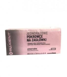 Pokrowiec na zagłówek stomatologiczny różowy 100 szt.