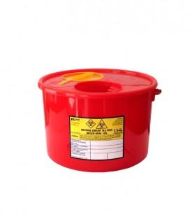 Jednorazowy pojemnik na zużyte igły 4 litry