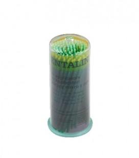 Aplikatory Dentaline zielone 100 szt.