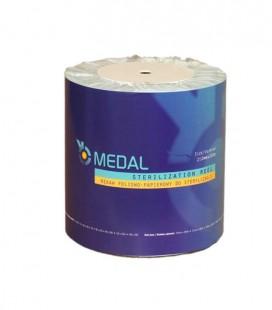 Rękaw foliowo-papierowy do sterylizacji 250 mm × 200 m