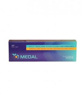 Samoprzylepne torebki do sterylizacji 90 mm × 260 mm 200 szt.