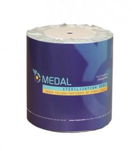 Rękaw foliowo-papierowy do sterylizacji 200 mm × 200 m