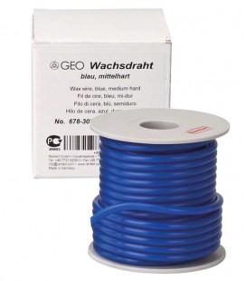 Wosk GEO drut średnio twardy niebieski 5,0 mm 250 g