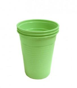 Kubki plastikowe 180 ml seledynowy 100 szt.