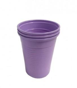 Kubki plastikowe 180 ml fioletowe 100 szt.