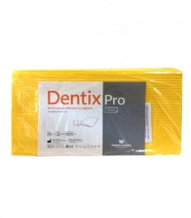 Pokrowce na zagłówki Dentix Pro żółte 50 szt.