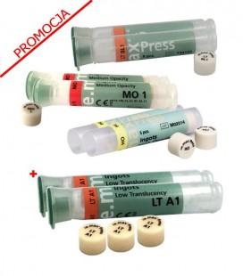6 × IPS e.max Press HT/MT/LT/MO/HO 5 sztuk, PROMOCJA