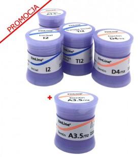 4 × IPS InLine Dentin/Incisal/Transpa Incisal 20 g, PROMOCJA