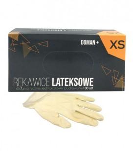 Rękawice lateksowe pudrowane XS 100 szt.