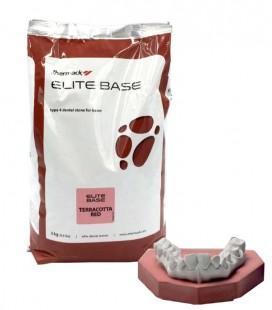 Gips IV Elite Base Terracotta Red 3 kg
