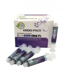 Endo-Pack dozowniki do Gluco-Chex 2%, 20 sztuk