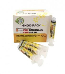 Endo-Pack dozowniki do Kwas cytrynowy 40% 20 sztuk
