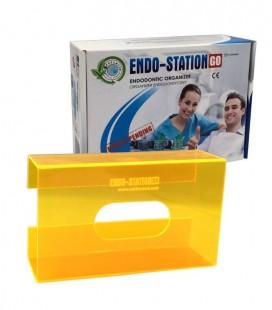 Endo-Station GO Glove Box neon orange